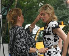 On the Set (July 2008) JlfilminginNYC