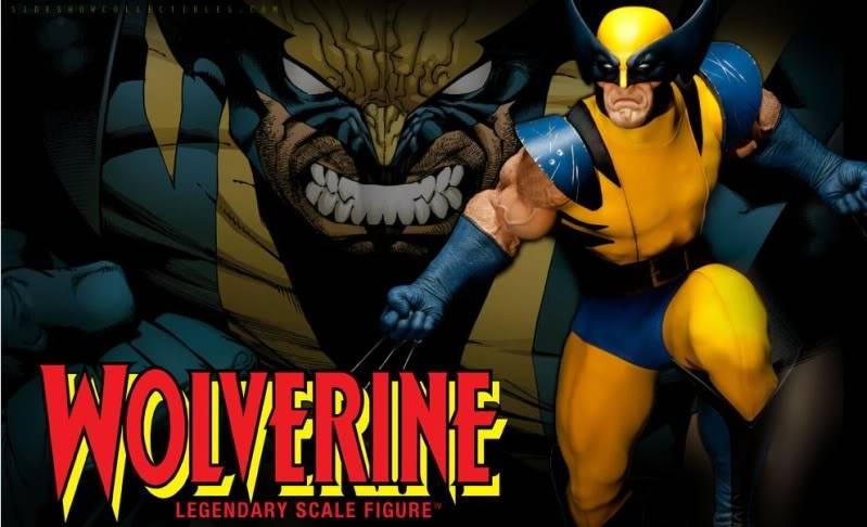 [SideShow] Wolverine Legendary Scale™ Figure Wolverine