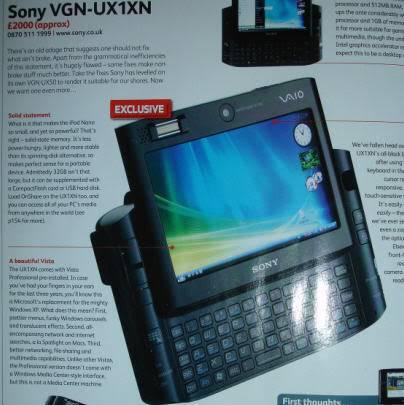 VAIO UX SERIES ng SONY Sony_20ux1xn