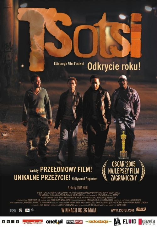 Tsotsi (South Africa, 2005) Winner of The Oscars Tsotsi-PolishCover