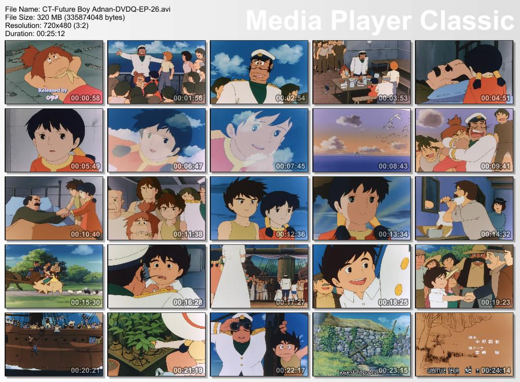 Future Boy Conan (1978) a.k.a Adnan & Leena Adnan-EP26