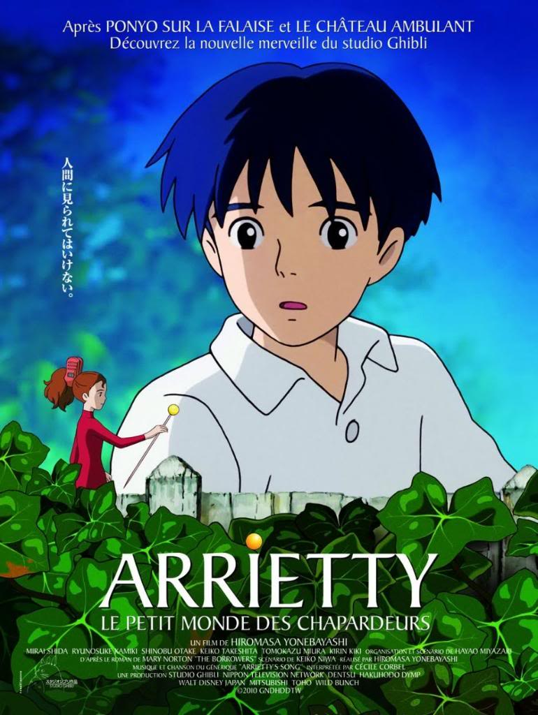 Kari-gurashi no Arietti (2010) The borrower Arrietty Arietti