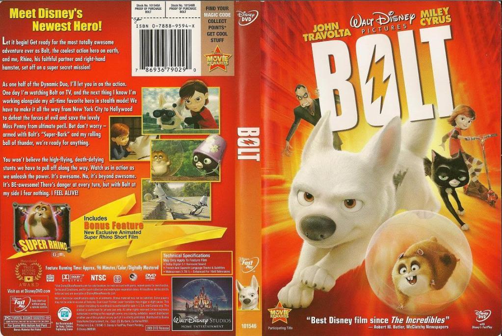 Bolt (2008) Disney Bolt_DVDcover