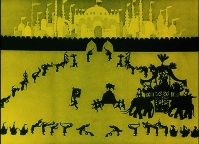 The adventures of Prince Achmed (1926) the 1st animated movie Ever PrinceAchmed192605
