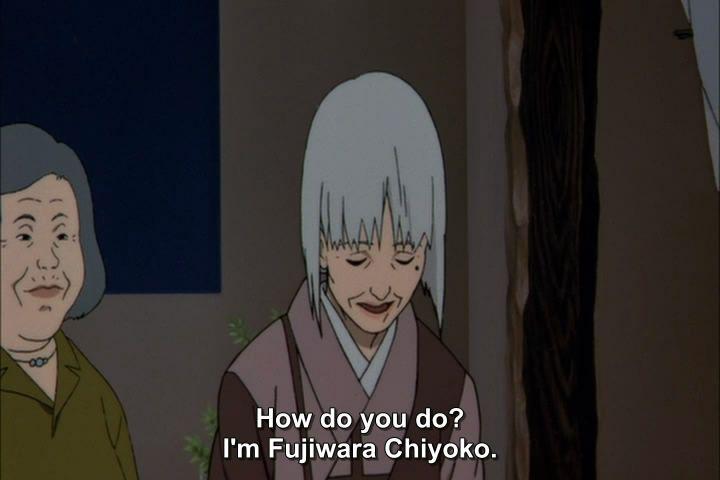Millennium Actress (2001) Satoshi Kon Sennen04