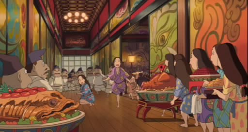 Spirited Away (2001) Studio Ghibli  SpiritedAway009