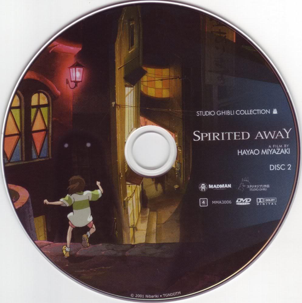 Spirited Away (2001) Studio Ghibli  Spirited_Away_AustralianDVD