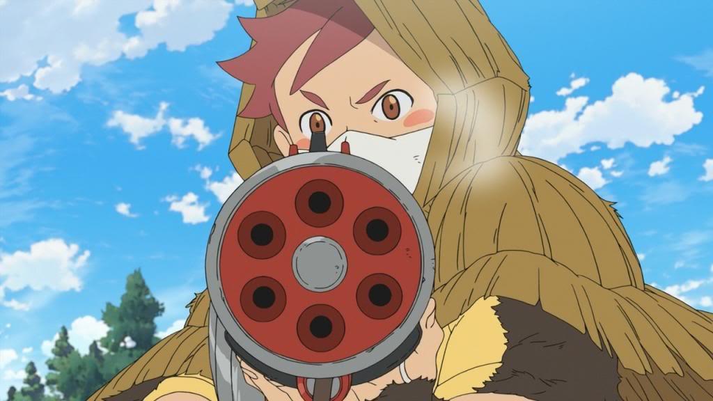 Fuse Teppou Musume no Torimonocho (2012) Fuse, Memory of The Girl with Gun Teppou01
