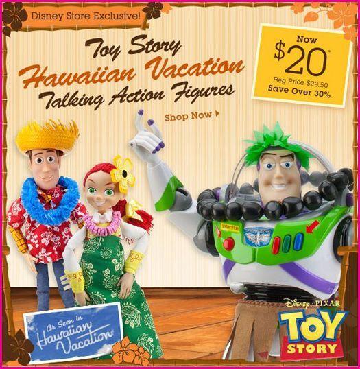 Toy Story (2011) Hawaiian Vacation Toy-Story-Hawaiian-Vacation-Figures-Disney-Store