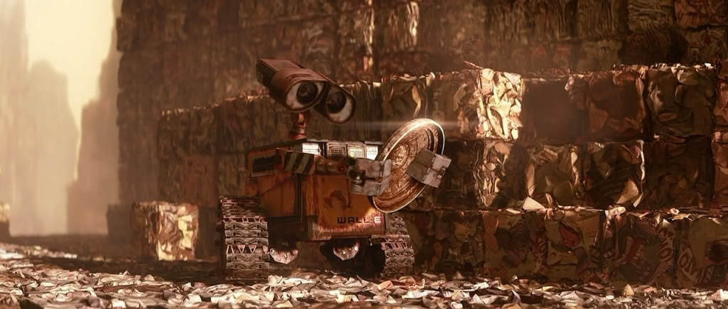Wall-E (2008) Disney's Anime for the Oscars WallE01