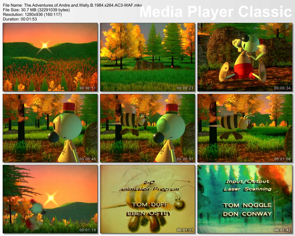 Pixar - Short films Collection - Part 01 Thumbs-AndreandWallyB1984