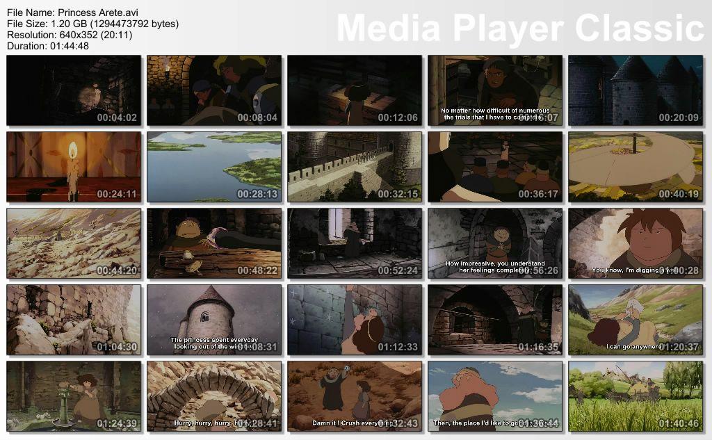 Princess Arete (2001) by Studio 4°C Thumbs-AriteHime