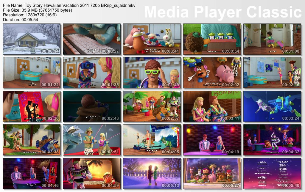 Toy Story (2011) Hawaiian Vacation Thumbs-HawaiianVacation