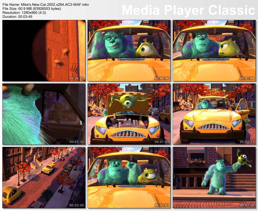 Pixar - Short films Collection - Part 01 Thumbs-MikesNewCar2002
