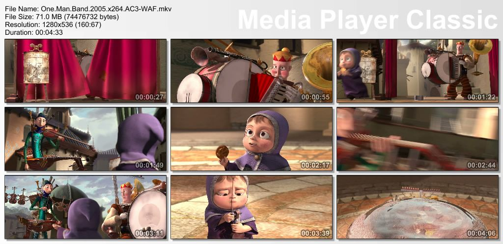 Pixar - Short films Collection - Part 01 Thumbs-OneManBand2005