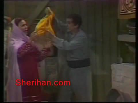 ألف ليلة وليلة (1986) الأميرة وردشان ومندو الزبال , وفوازير الأمثال 10avi_shot02
