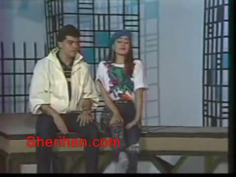 ألف ليلة وليلة (1986) الأميرة وردشان ومندو الزبال , وفوازير الأمثال 16avi_shot02
