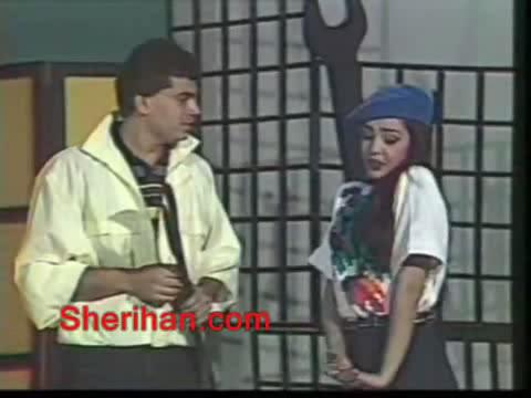 ألف ليلة وليلة (1986) الأميرة وردشان ومندو الزبال , وفوازير الأمثال 16avi_shot03