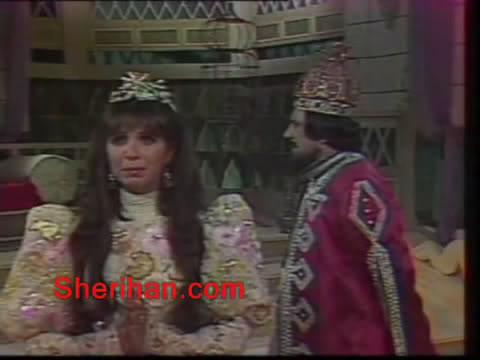 ألف ليلة وليلة (1986) الأميرة وردشان ومندو الزبال , وفوازير الأمثال 1avi_shot01