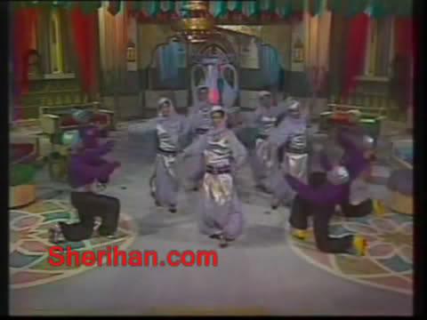 ألف ليلة وليلة (1986) الأميرة وردشان ومندو الزبال , وفوازير الأمثال 1avi_shot04