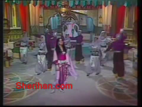 ألف ليلة وليلة (1986) الأميرة وردشان ومندو الزبال , وفوازير الأمثال 1avi_shot06