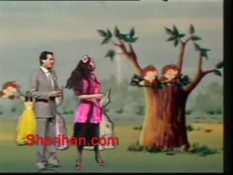 ألف ليلة وليلة (1986) الأميرة وردشان ومندو الزبال , وفوازير الأمثال 1avi_shot08