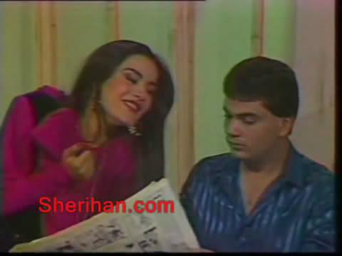 ألف ليلة وليلة (1986) الأميرة وردشان ومندو الزبال , وفوازير الأمثال 3avi_shot02
