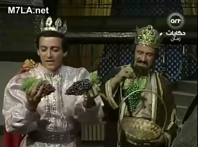 ألف ليلة وليلة (1987) التلات بـنـات : حليمة و كريمة وفطيمة 3rmvb_shot02