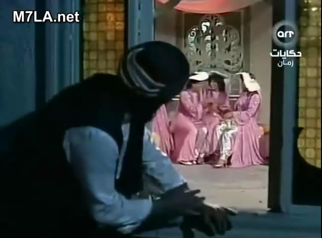 ألف ليلة وليلة (1987) التلات بـنـات : حليمة و كريمة وفطيمة 3rmvb_shot03