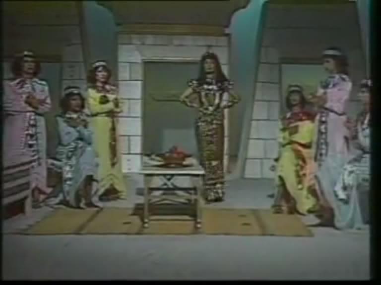 ألف ليلة وليلة (1986) الأميرة وردشان ومندو الزبال , وفوازير الأمثال 4avi_shot03