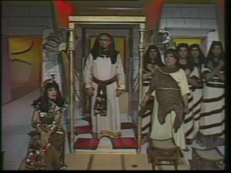 ألف ليلة وليلة (1986) الأميرة وردشان ومندو الزبال , وفوازير الأمثال 4avi_shot05