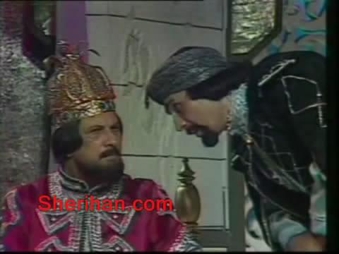 ألف ليلة وليلة (1986) الأميرة وردشان ومندو الزبال , وفوازير الأمثال 7avi_shot01