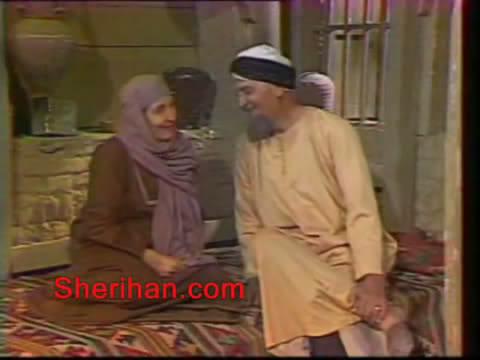ألف ليلة وليلة (1986) الأميرة وردشان ومندو الزبال , وفوازير الأمثال 7avi_shot02