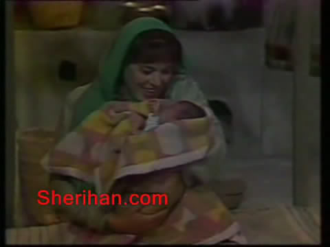 ألف ليلة وليلة (1986) الأميرة وردشان ومندو الزبال , وفوازير الأمثال 9avi_shot02