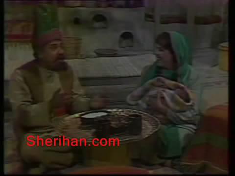 ألف ليلة وليلة (1986) الأميرة وردشان ومندو الزبال , وفوازير الأمثال 9avi_shot03