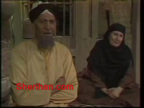 ألف ليلة وليلة (1986) الأميرة وردشان ومندو الزبال , وفوازير الأمثال 9avi_shot04