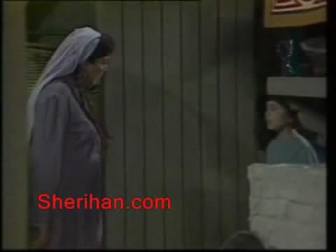 ألف ليلة وليلة (1986) الأميرة وردشان ومندو الزبال , وفوازير الأمثال 9avi_shot05