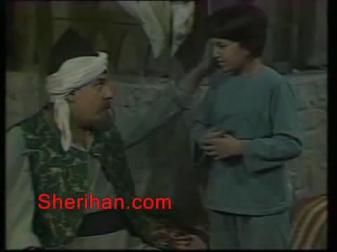 ألف ليلة وليلة (1986) الأميرة وردشان ومندو الزبال , وفوازير الأمثال 9avi_shot07