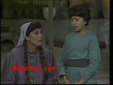 ألف ليلة وليلة (1986) الأميرة وردشان ومندو الزبال , وفوازير الأمثال 9avi_shot08