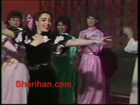 ألف ليلة وليلة (1986) الأميرة وردشان ومندو الزبال , وفوازير الأمثال 9avi_shot11