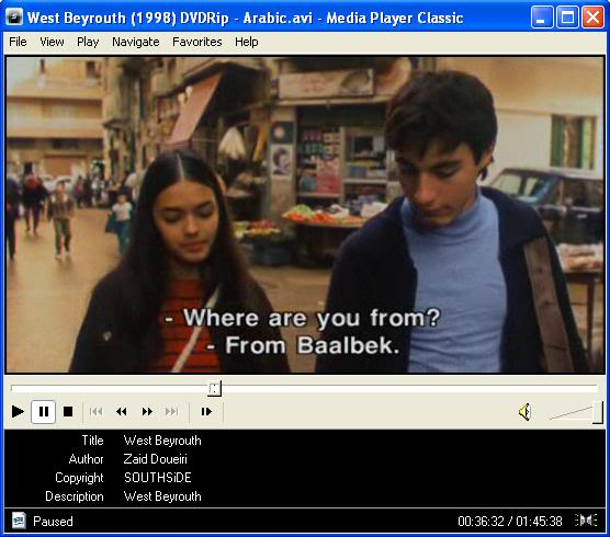 West Beirut (1998) Ziad Douiri Movie