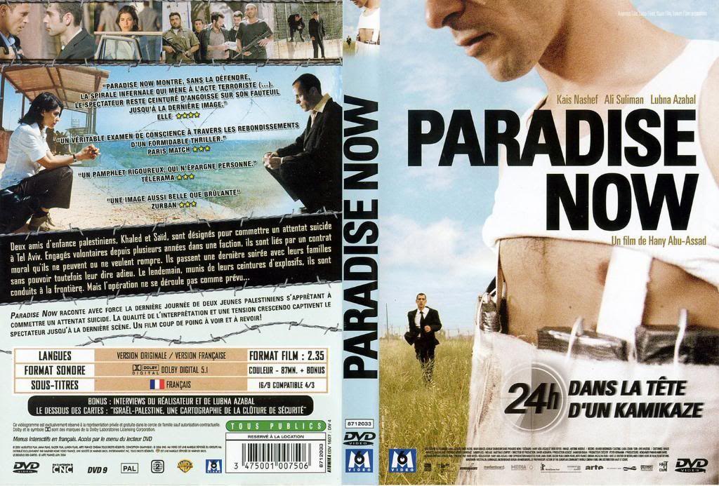Paradise Now (2005) Hany Abu-Asaad ParadiseNowFrenchDVD