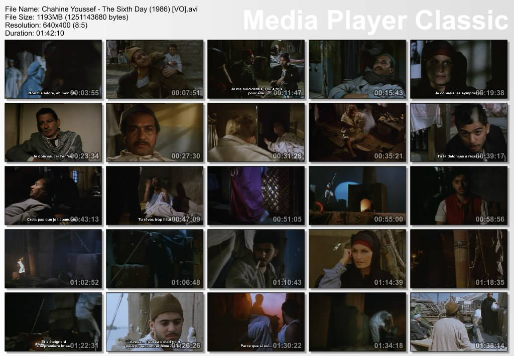 Le Sixieme Jour (1986) Yosef Chahine  اليوم السادس  Thumbs-Le6meJour