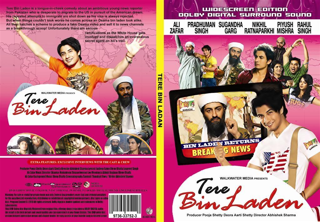 Tere Bin Laden (2010)  Ali Zafar DVDCover