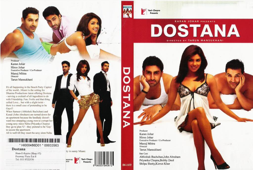 Dostana (2008) Priyanka Chopra  Dostana2008DVDCoVeR
