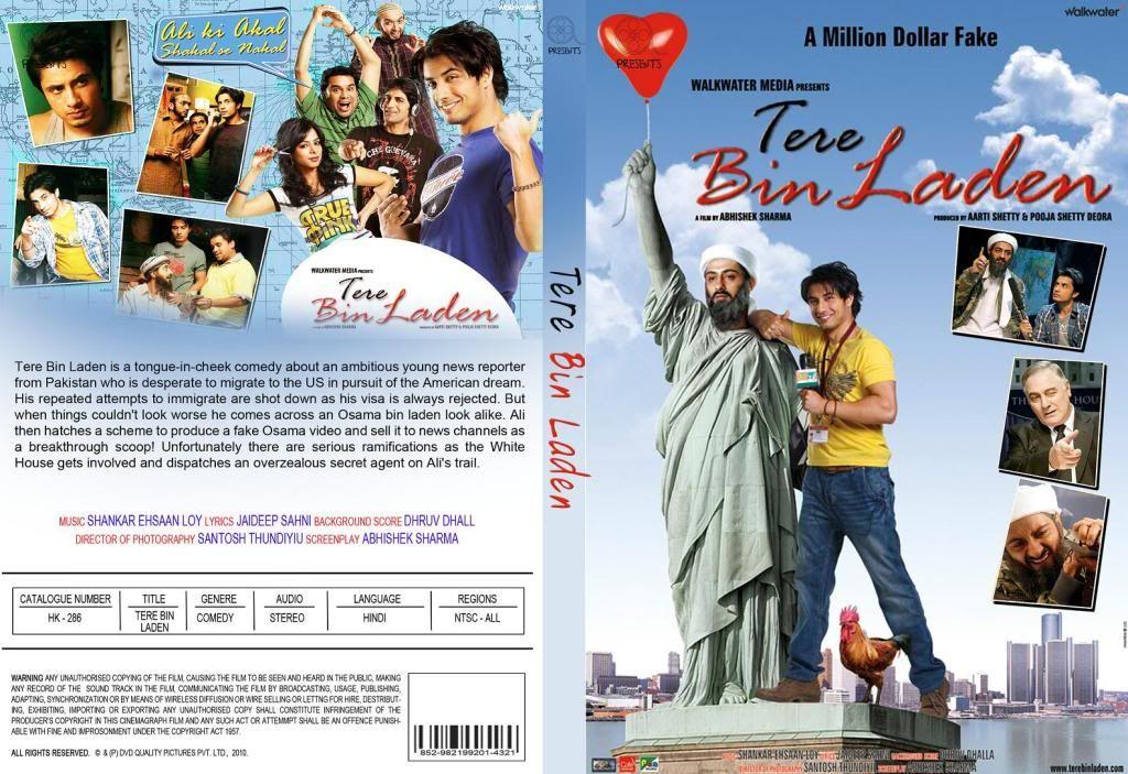 Tere Bin Laden (2010)  Ali Zafar TerebinladenDVD