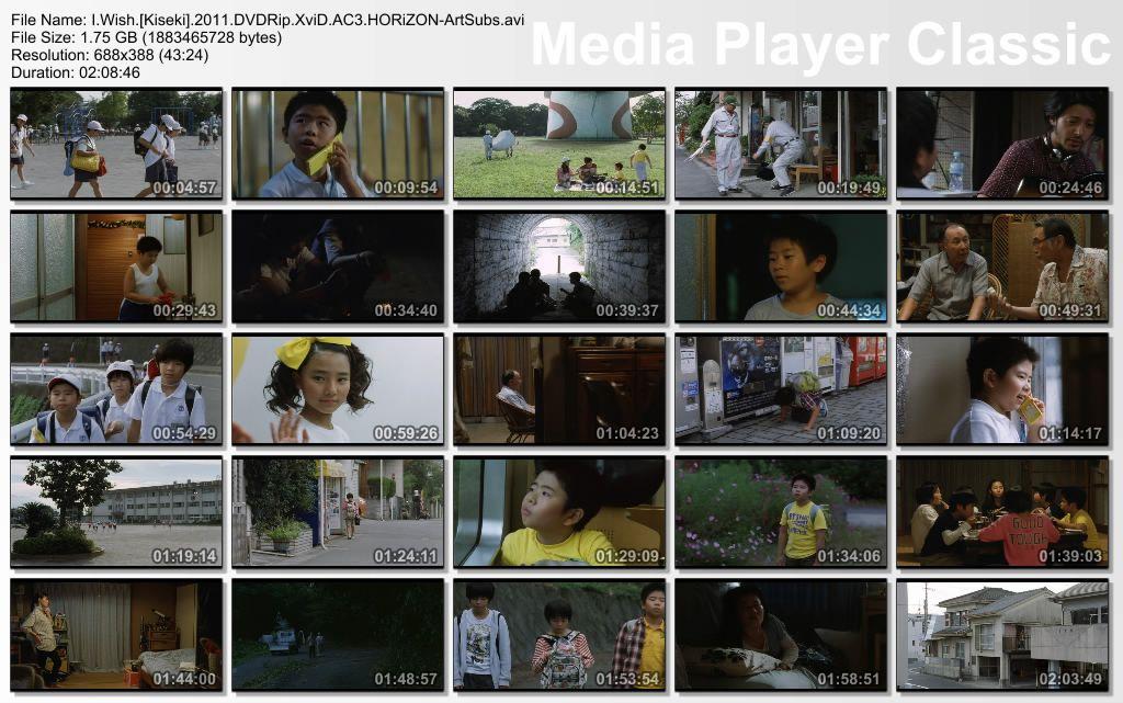 I.Wish.Kiseki.2011.DVDRip.XviD.AC3.HORiZON-ArtSubs Thumbs-Kiseki