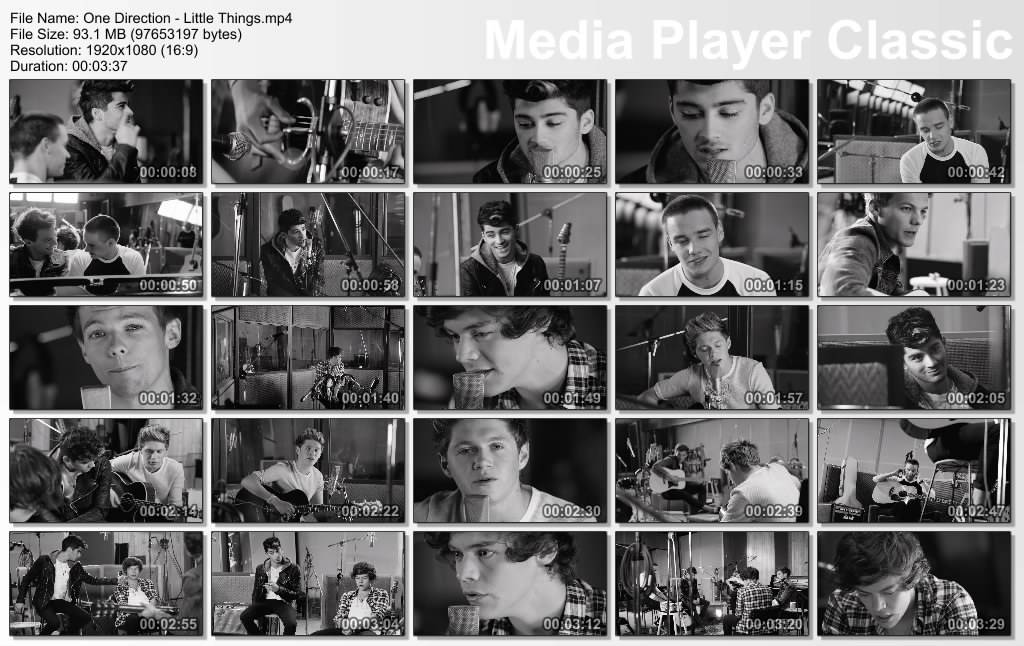 "British Boy Band ""One Direction"" a.k.a 1D 1D-LittleThings_1080p"