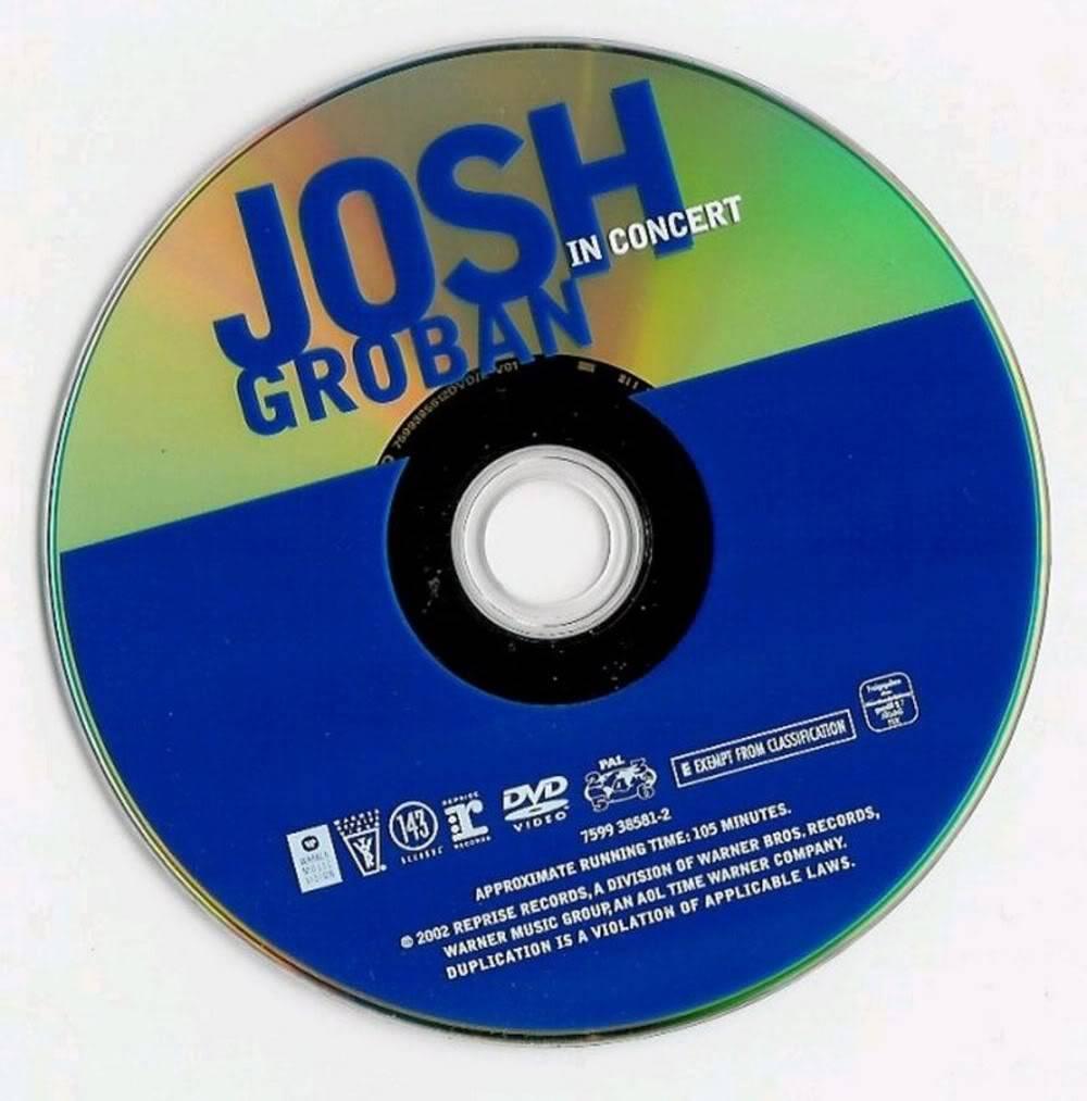Josh Groban - Live in Concert (2002) Luv JoshGrobanLiveInConcert2002CD