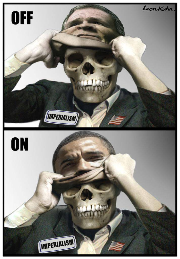 خدعة أوباما (2009) The Obama Deception Bush_obama_imperialism
